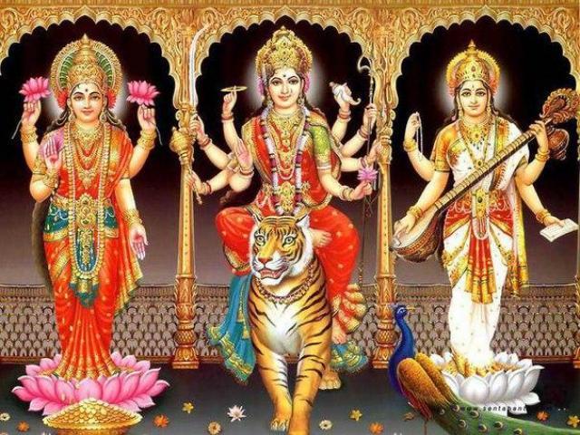 Празднование Наваратри