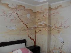 Роспись стен в комнате. Ищу художника.
