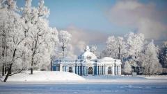 Екатерининский парк Царского села. 18 февраля 10.30