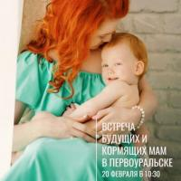 ВСТРЕЧА БУДУЩИХ И КОРМЯЩИХ МАМ  |  20 ФЕВРАЛЯ