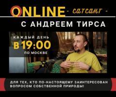 САТСАНГ С АНДРЕЕМ ТИРСА